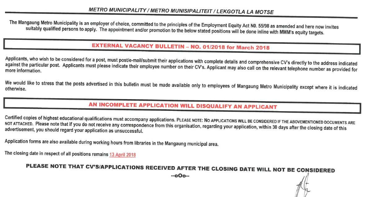 2015 metro police application forms south africa
